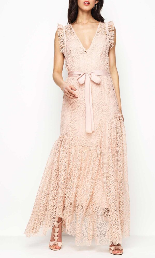 Reflection Gown Nude