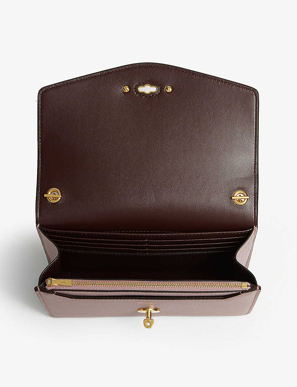 Mulberry Darley small leather bag - Mocha Rose