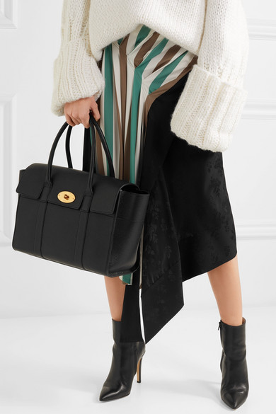 Mulberry Bayswater Classic Grain Leather Tote